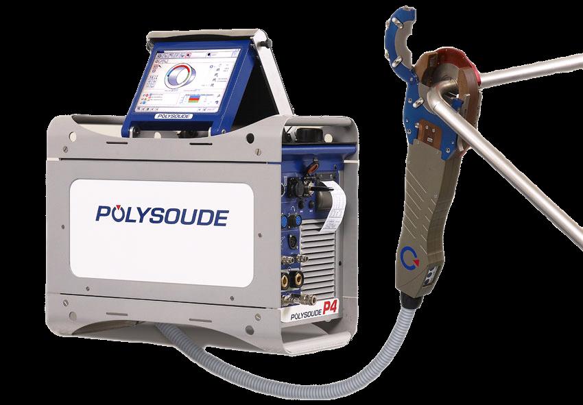 P4 – переносной автомат для орбитальной ВИГ - сварки